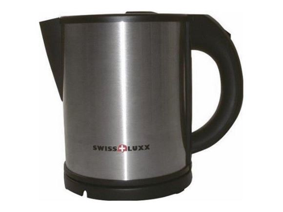 Swiss Luxx 1Ltr Low Wattage Kettle - S/Steel product image