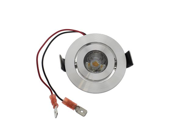 AH2 LED Kerstin 12V/1.4W Rotating Spotlight Chrome product image