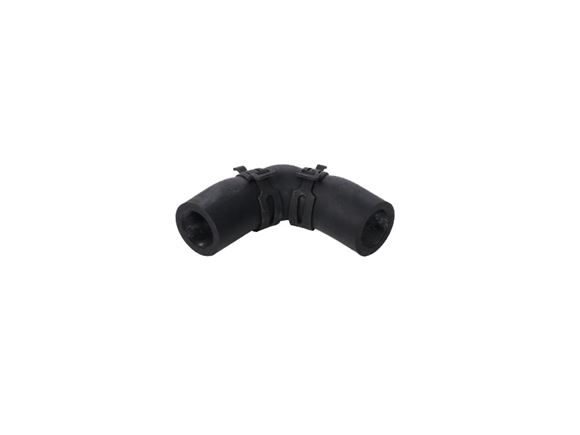 Alde Rubber Elbow 90d c/w clips 62x62mm 22mm product image