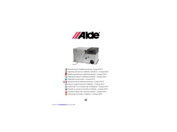 Alde 3010 Heating System Installation Manual product image