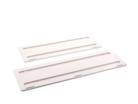 Dometic White Fridge Vent Winter Covers Pair product image