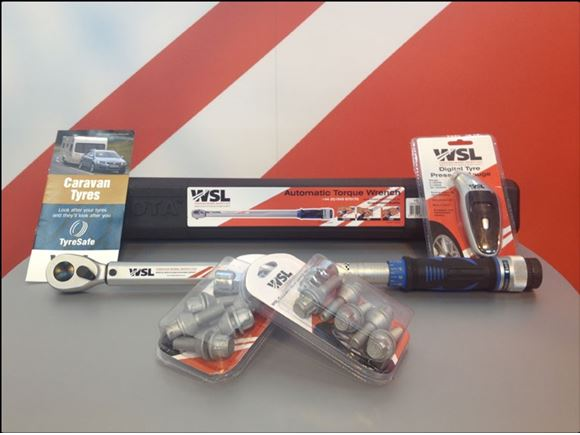 WSL Wheel Safety Kit Single Axle product image