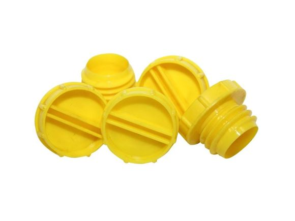 AL-KO Yellow Secure Receiver Caps (x5) product image