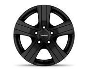 "15"" Hammer Black Alloy Wheel Rim (Single)"