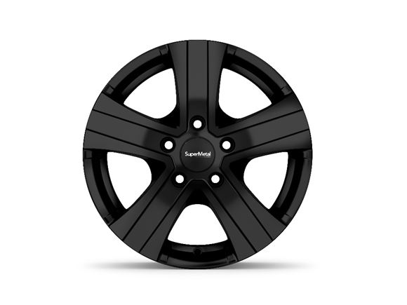"15"" Hammer Black Alloy Wheel Rim (Single) product image"
