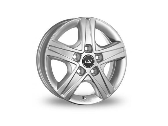 "15"" Borbet Silver Alloy Wheel Rim (Single) product image"