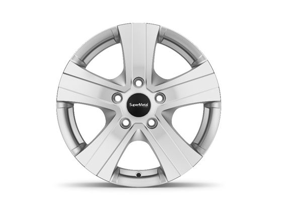 "15"" Hammer Silver Alloy Wheel Rim Set of 4 product image"