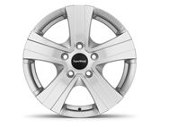 "16"" Hammer Silver Alloy Wheel Rim Set of 4"