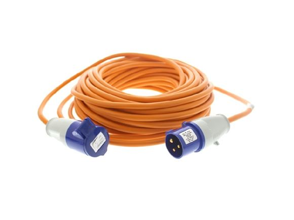 Mains Site Lead 25m (Straight Connector) product image