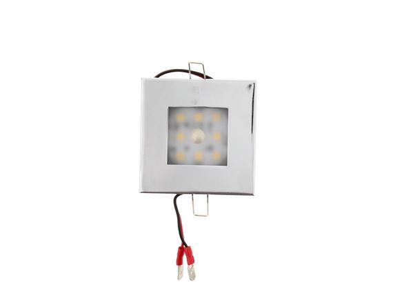 """Sven"" Touch Sensor Square LED Chrome product image"