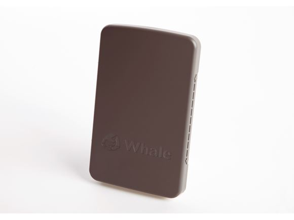Whale Sliding Socket Lid Grey Plain product image