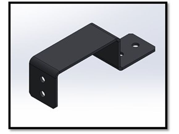 Slat Support Bracket - Single Seat product image