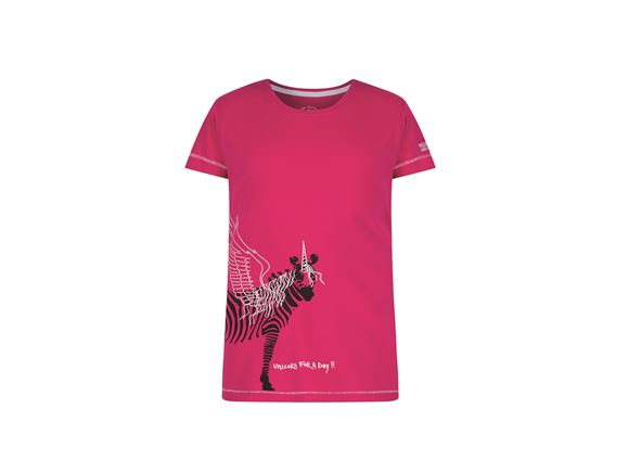 Regatta Bobbles II Kids T Shirt Pink Unicorn product image