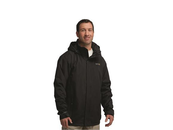 Regatta Matt Mens Waterproof Jacket Black M product image