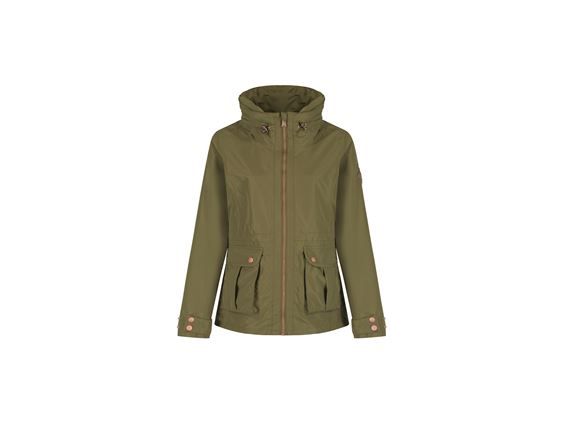 Regatta Nardia Womens Waterproof Jacket Green 18 product image