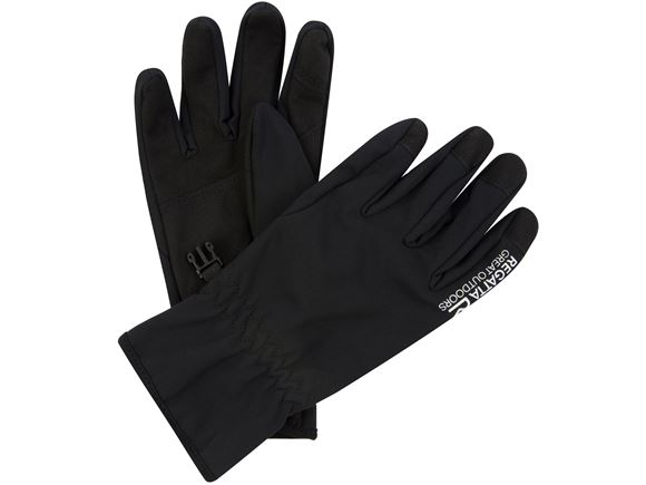 Regatta Mens Xert S/Shell Glove Black M product image