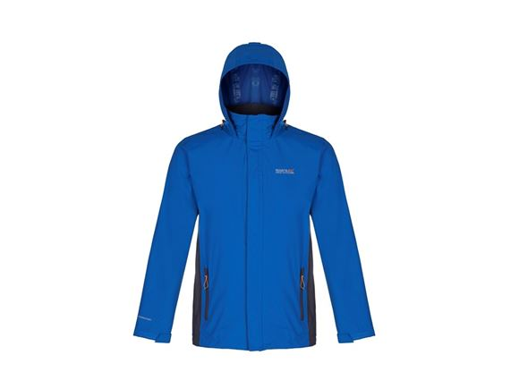 Regatta Matt Mens Waterproof Jacket Blue 3XL product image