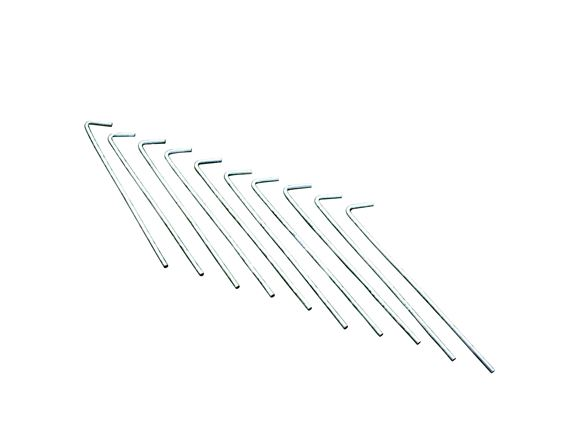 Regatta Roundwire Steel Pegs (x10) product image