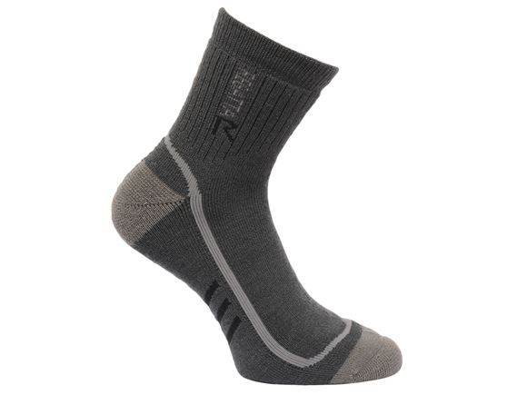 Regatta Mens 3 Season Trek&Trail Sock Grey 3-5 product image