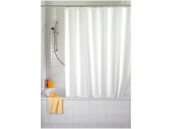 PRIMA Non-Toxic 100% EVA Shower Curtain - White product image