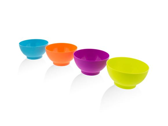 PRIMA 4pc Bowl Set Small - Multicolour product image