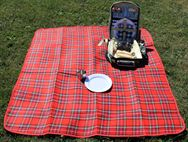 PRIMA Waterproof Picnic Blanket 130x150cm - Red