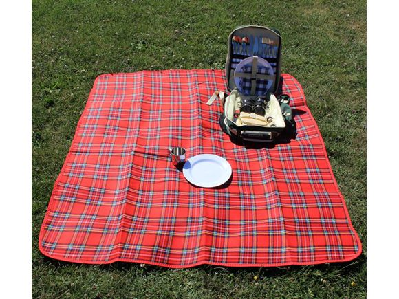 PRIMA Waterproof Picnic Blanket 130x150cm - Red product image