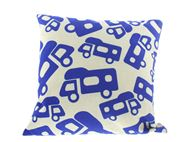 PRIMA Motorhome Pattern Scatter Cushion 40x40cm