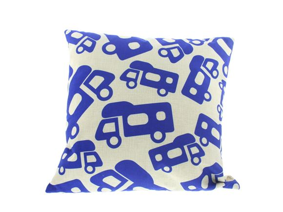 PRIMA Motorhome Pattern Scatter Cushion 40x40cm product image