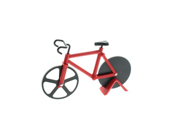 Bicycle Pizza Cutter - Red product image
