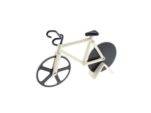 Bicycle Pizza Cutter - White product image