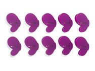PRIMA 10pc Butterfly Clip Set - Purple