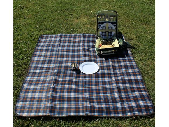 PRIMA Waterproof Picnic Blanket 130x150cm - Blue product image