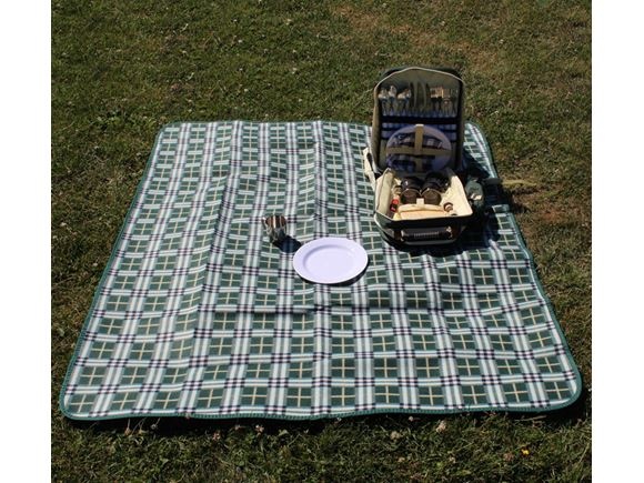 PRIMA Waterproof Picnic Blanket 130x150cm - Green product image