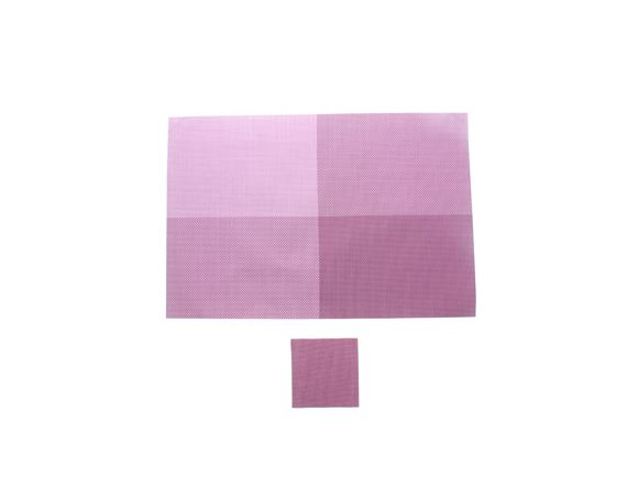 PRIMA 12pc Placemat & Coaster Set - Purple product image