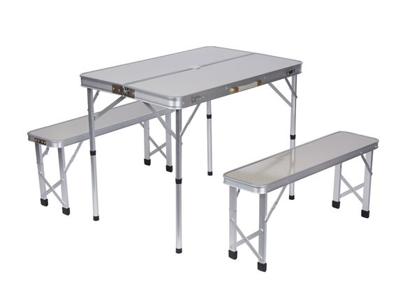 PRIMA Small Portable Picnic Table & Bench Set product image