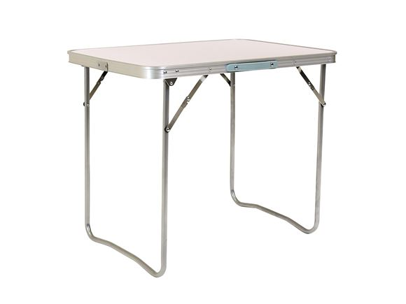 PRIMA 80x60cm Portable Folding Camping Table, Grey product image