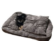 PRIMA Extra Large Brown Dog Bed 150x120x20cm