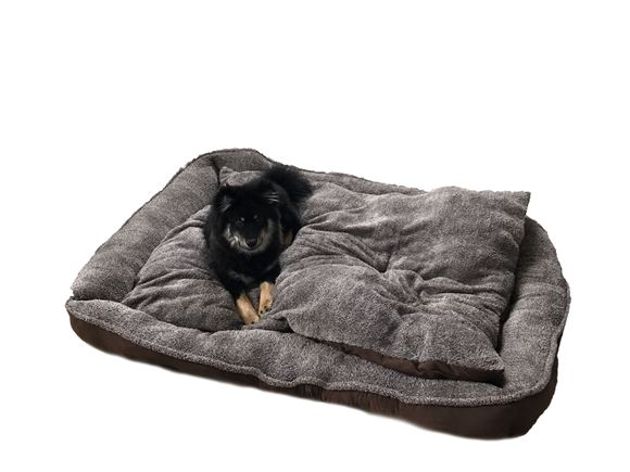 PRIMA Extra Large Brown Dog Bed 150x120x20cm product image