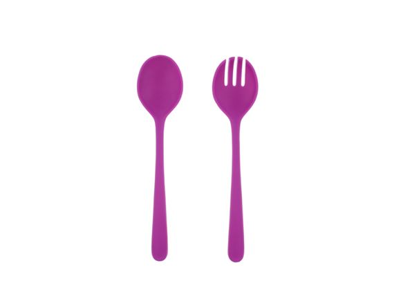 PRIMA Lightweight Salad Servers - Purple product image