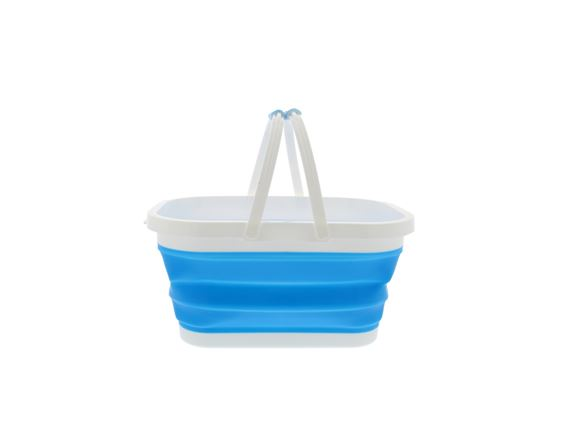 PRIMA Collapsible Rectangular Bucket - Blue  product image