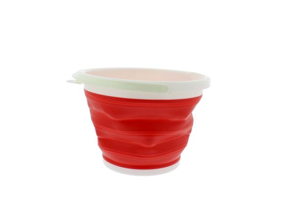 PRIMA Collapsible Round Bucket - 10L Red product image
