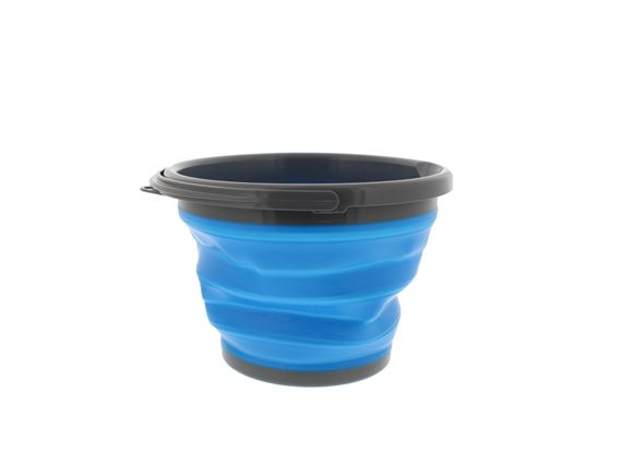 PRIMA Collapsible Round Bucket - 10L Blue & Grey product image