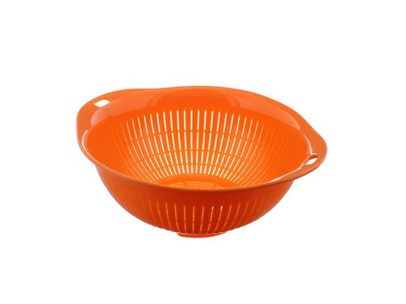 PRIMA Lightweight Plastic Colander - Orange product image