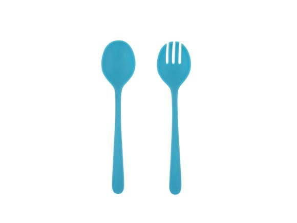 PRIMA Lightweight Salad Servers - Blue product image