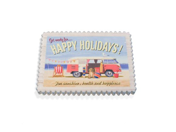 PRIMA Happy Holidays Fridge Magnet product image