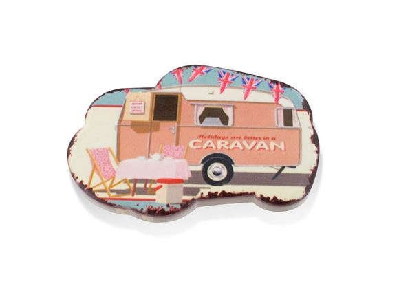 PRIMA Retro Caravan Fridge Magnet product image