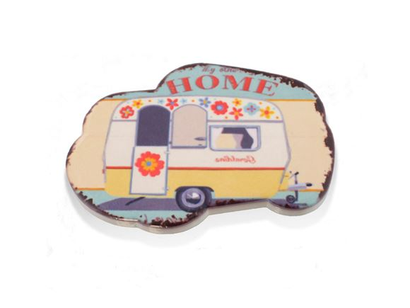 PRIMA Retro Caravan 'Home' Fridge Magnet product image
