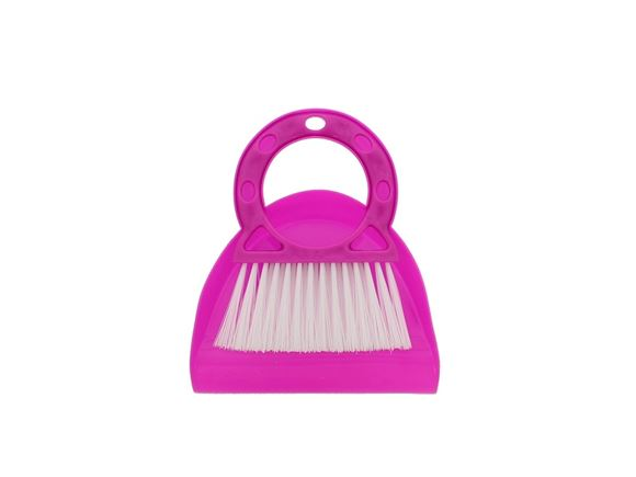 PRIMA Compact Dustpan & Brush Set - Pink product image