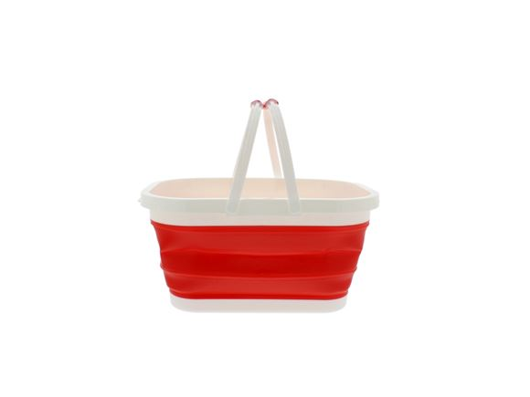 PRIMA Collapsible Rectangular Bucket - Red product image